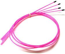 56412R receptor RC Cable De Antena De Tubos con Tapas 5 Rosa Fluorescente 1000 mm largo