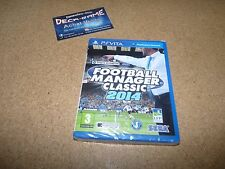 jeu video ps vita football manager classic 2014 neuf sous blister en francais