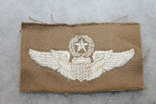 Original WW2 U.S. Army Air Forces (AAF) Khaki Cloth Command Pilot's Wings