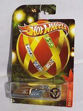 Hot Wheels 2011 Wal-Mart Holiday Series Pit Cruiser Motorcycle Mtflk Gold