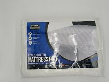 """New ListingMattress Topper Quilted Fitted Mattress Pad Cover Fits Up To 16"""" Utopia Bedding"""
