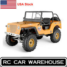 RGT RC  Rock Crawler 1/10 Off Road Trucks RTR Split Transmission 4WD  Car Orange