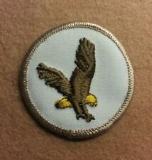 BSA  PATROL MEDALLION PATCH - FLYING EAGLE - 1972 - 1989  - PRE-OWNED  B00037