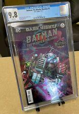 Dark Nights Batman The Murder Machine #1 CGC 9.8 WP Foil Cover Metal Tie-In