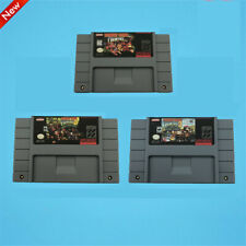 Donkey Kong Country Version SNES USA Cartridge Super Nintendo Game DKC 1 2 3