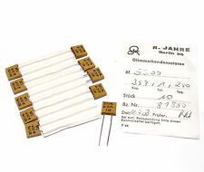 10x Jahre Glimmer-Kondensator 357 pF / 1 % / 250 Volt, High-End Mica Capacitor