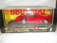 Burago 1552 FERRARI F50 1995 ROJO 1/24 Menta & EN CAJA