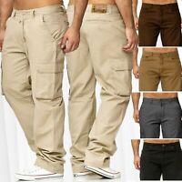 Pantalon thermique hommes cargaison doublé travail Chino Outdoor Fleece M-XXXXXL
