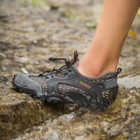 Fashion Men's Amphibious Athletic Hiking Swimming Water Shoe Aqua Sneaker New