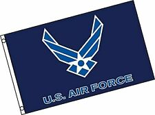Quality Standard Flags Us Air Force Wings Flag, 3 by 5' 3 by 5'
