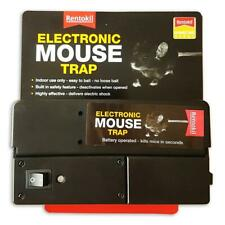 Rentokil Electronic Mouse Trap, Battery Powered, Indoor Use, Easy to Use & Clean