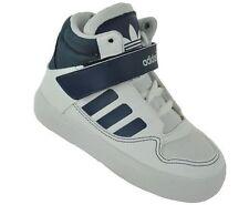 Chaussures blanches adidas à lacets pour garçon de 2 à 16 ans