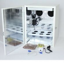 2.0 Stealth Hydroponic Grow Box With Led Grow Light 6 Site Dwc