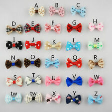 10pcs Multicolor Beauty Pet Cat Dog Hair Bows Hair Clips Grooming Accessories
