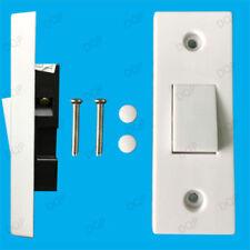 Materiales eléctricos de bricolaje interruptores de luz de color principal blanco