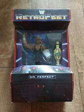 WWE Elite retrofest Mr Perfect Curt Hennig Exclusivo Figura Nuevo Sellado