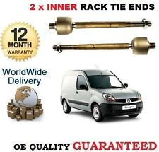 FOR RENAULT KANGOO VAN 1.5 DCi  1.6 2008> 2x INNER TRACK RACK TIE ROD END SET