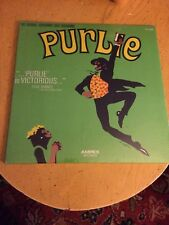 Purlie LP SEALED 70 Broadway Soundtrack OST Mozelle Thompson Cover Broadway Cast
