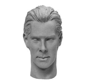 1/6 Custom Sherlock Benedict Cumberbatch Khan Star Trek Unpainted Head
