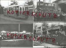 "4 Postkarten ""Hamburger Hochbahn - 140 Jahre Betriebshof Wandsbek"""
