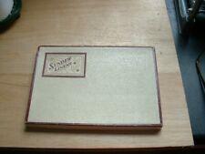 More details for sundew embroidered vintage linen tea  napkins in original box made in ireland