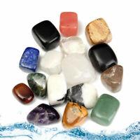 Crystal Healing 10-25mm Kits Mixed Natural Assorted Tumbled Stones-AU E6M8