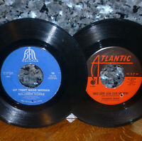 """*<* 2fer SALE! SOLOMON BURKE's """"ONLY LOVE"""" + """"UP TIGHT GOOD WOMAN"""" CLEAN VG+ 45s"""