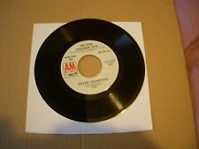 """PETER FRAMPTON - JUMPING JACK FLASH / OH FOR ANOTHER DAY - 7""""  USA PROMO SINGLE"""