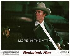 WESTERN FAVE CLINT EASTWOOD IS THE HONKYTONK MAN MINT UNUSED US LOBBY SET