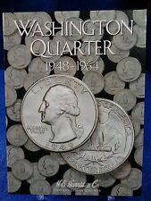 H.E. Harris Washington Quarter 1948-1964 Coin Folder #2, Album Book #2689