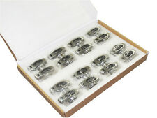 """ROLLER ROCKER ARMS kit for Chevy SB V8 , 1.52 Ratio 3/8"""", 16 CNC Stainless Steel"""