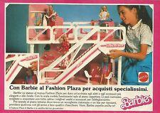 X1115 BARBIE - Al Fashion Plaza per acquisti specialissimi - Pubblicità 1989