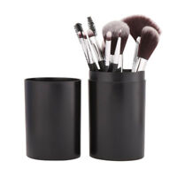 12PCS Pro Makeup Brushes Set Cosmetic Brush Tools With Cylinder Holder Cup Case