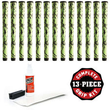 Winn Dri-Tac X Standard Green/Black DriTac - 13 Pieces Golf Grip Kit - NEW!