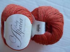 King Cole Baby Alpaca 100% Alpaca DK yarn, Rustic, lot of 2, Peru (110 yds ea)