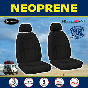 Ford Transit Custom (VO,VN) 2013-On Neoprene FRONT Seat Covers Waterproof Car