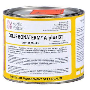 Colle Bonaterm A-plus BT tapisserie ameublement tuning