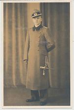 Portrait-Sturmgeschütz Offizier-Dolch-Schirmmütze-Mantel  (2806)