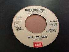 "CLIFF RICHARD * TRUE LOVE WAYS * 7"" SINGLE EXCELLENT 1983"