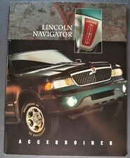 2009 Lincoln Navigator Accessories Brochure Excellent Original French Canadian