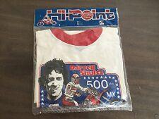 Darrell Schultz Champion New T Shirt Rare Authentic Vintage Honda Motocross 80s