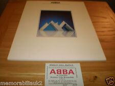 ABBA  3RD LAST U.K.  CONCERT BINGLEY HALL STAFFORD 1979 PROGRAMME AND TICKET