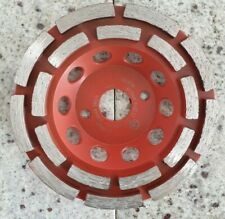 125 mm Diamantschleiftopf E Beton Granit  Schleifteller Schleifscheibe Flex