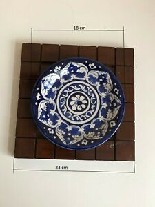 beautiful christmas gift hand made glazed ceramic decoration plate