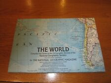 THE WORLD Map - Dec 1970 - National Geographic Magazine - Scale 1:39,283,200