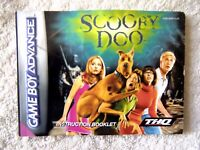 47448 Instruction Booklet - Scooby-doo - Nintendo Game Boy Advance (2002) CGB-AP