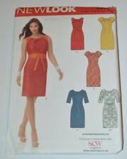 sewing pattern dress in five styles