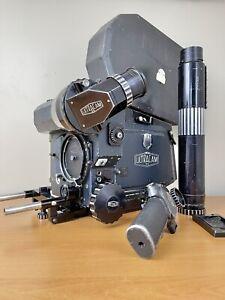 Leonetti Ultracam 35mm with 12 Magazines, Service/Operation Manuals, Spare Parts