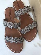 New Anthropologie Laidback London Embellished Sandals Euro 41 (like US 10/10.5)