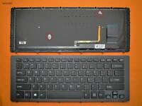 Keyboard for SONY SVF15N Series BLACK FRAME BLACK (With Backlit For Win8) US